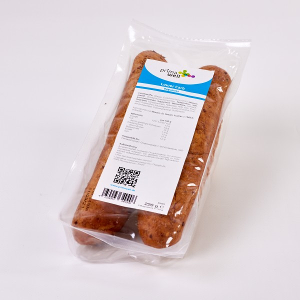 Primawell Lower Carb Protein Baguettes 2 Stck. à 110g