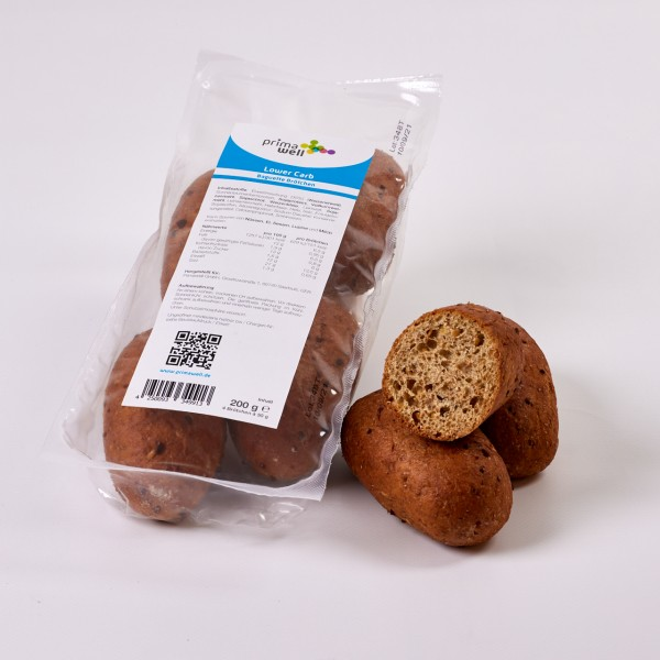 Primawell Lower Carb Protein Brötchen 4 Stck. à 50g