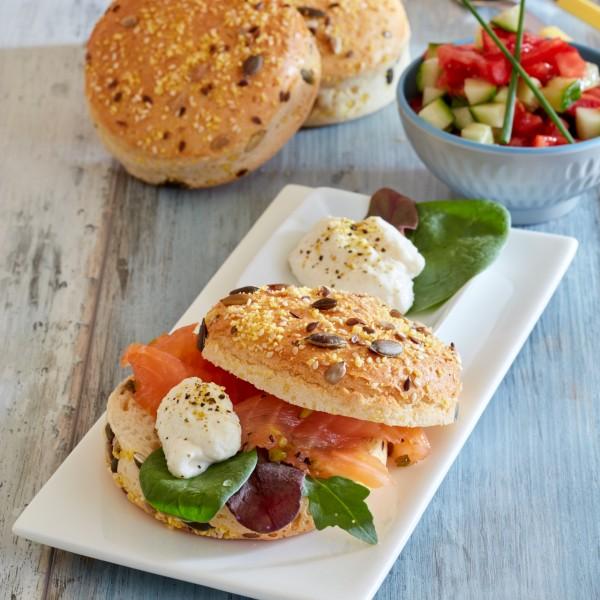 Primawell glutenfreies helles Brot & Burger-Buns GF n°04, 500g