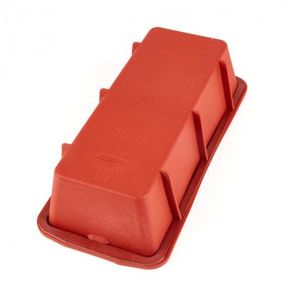 Silikomart Kastenbackform aus Silikon mit Stabilitätsring (240 x 105 x 65, 1500 ml)