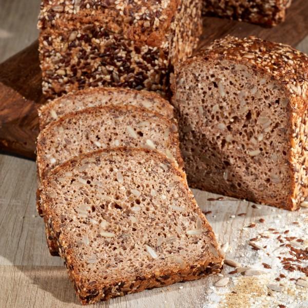 Primawell glutenfreies Saaten Brot GF n°02, 500g